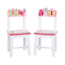 <strong>Guidecraft</strong> Butterfly Buddies Chair (Set of 2)