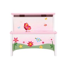 <strong>Guidecraft</strong> Butterfly Buddies Storage Step Stool