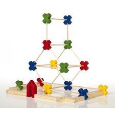 <strong>Guidecraft</strong> Construction Toys Texo 65 Piece Building Set