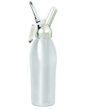 Professional 1 Quart Cream Whipper in Brushed Stainless  Steel