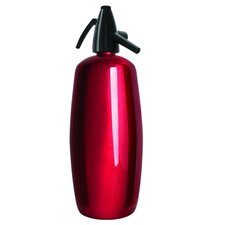 Professional 2 Quart Soda Siphon in Red Stainless Steel