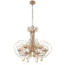Elysse 6 Light Crystal Chandelier
