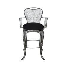 Flow Armed Swivel Bar Stool