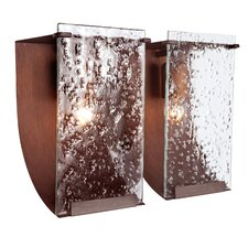 Rain Recycled 2 Light Bath Vanity Light
