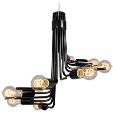 Socket-To-Me 8 Light Chandelier