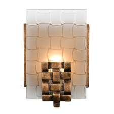 Dreamweaver 1 Light Recycled Wall sconce