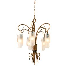 Recycled Soho  5 Light Chandelier