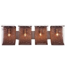 <strong>Varaluz</strong> Rain Recycled 4 Light Bath Vanity Light