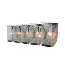Rain Recycled 5 Light Bath Vanity Light