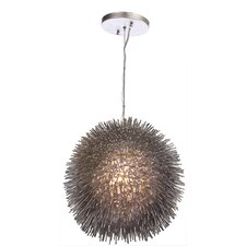 Urchin 1 Light Foyer Globe Pendant
