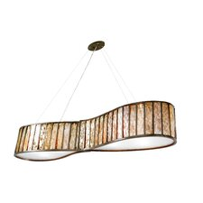 Affinity 6 Light Drum Foyer Pendant