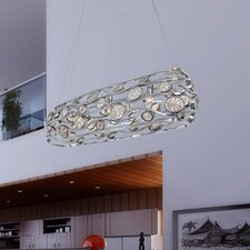 Swank 3 Light Linear Pendant