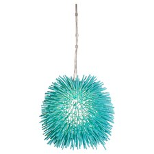 Urchin 1 Light Drum Foyer Pendant