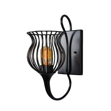 Encaged 1 Light Wall Sconce