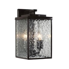 Mission You 2 Light Outdoor Wall Lantern