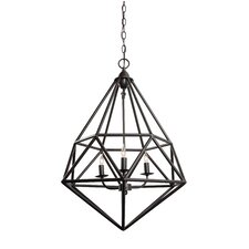 Facet 3 Light Pendant