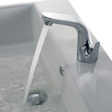 Iris Single Handle Single Hole Bathroom Sink Faucet