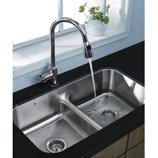 <strong>Vigo</strong> Rodeo One Handle Single Hole Pull Out Kitchen Faucet