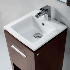 "<strong>Vigo</strong> 16"" Single Bathroom Vanity Set"