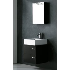 "<strong>Vigo</strong> Calida 21.63"" Wall Mounted Bathroom Vanity Set"