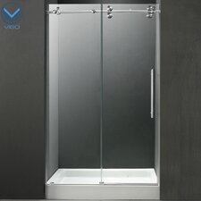 "59.75"" W x 74"" H x 32"" D Sliding Shower Door"