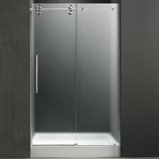 "59.75"" W x 74"" H x 32"" D Sliding Shower Door with Left Side Opening"