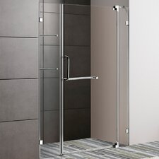 "48"" W x 72"" H Pivot Shower Door"