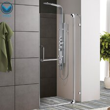 "42"" W x 72"" H Pivot Shower Door"