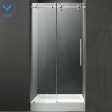 "59.75"" W x 74"" H x 30"" D Sliding Shower Door"