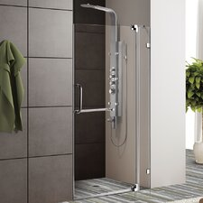 "36"" W x 72"" H Pivot Shower Door"