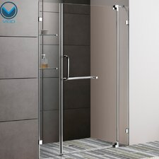 "54"" W x 72"" H Pivot Shower Door"