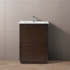 "<strong>Vigo</strong> Saba 24"" Single Bathroom Vanity Set"