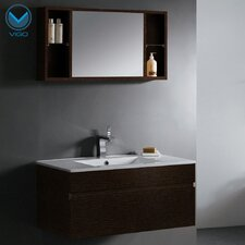 "Picasso 36"" Single Bathroom Vanity Set with Mirror"