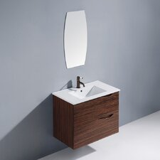 "<strong>Vigo</strong> Espresso Mayan 32"" Single Bathroom Vanity Set"