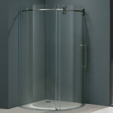 Frameless Round Neo-Angle Right Side Shower Door