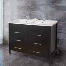 "Maxine 48"" Single Bathroom Vanity Set"