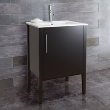 "<strong>Vigo</strong> Maxine 24"" Single Bathroom Vanity Set"