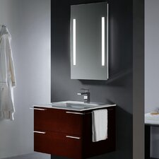 "Endearing 31.25"" Wall Mounted Bathroom Vanity Set"