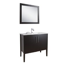 "Maxine 36"" Single Bathroom Vanity Set"