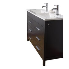 "Maxine 48"" Double Bathroom Vanity Set"