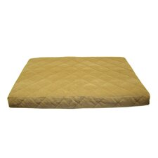 Quilted Orthopedic Dog Bed with Protector™ Pad in Caramel