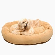 Microfiber Bagel Dog Pillow