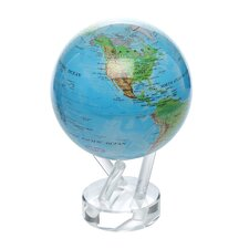 "<strong>MOVA Globes</strong> 4.5"" Blue Oceans with Relief Map Globe"