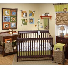 Zambia 4 Piece Crib Bedding Set