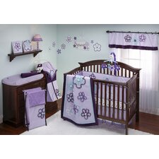 Harmony Ground Floral Crib Sheet