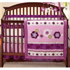 Pretty in Purple Secure-Me Mesh Crib Liner
