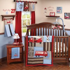 Engine 27 Crib Bedding Collection