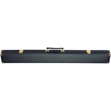 """32"""" 1/1 Box Pool Cue Case in Brass Corners"""