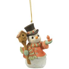 """Home for The Holidays"" Annual Snowman Ornament"