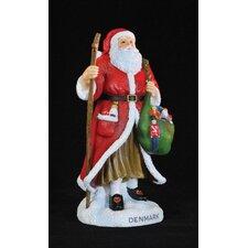 """""""Denmark"""" Denmark Santa Figurine"""
